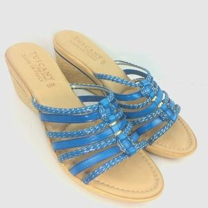 51e8bf82346 Tuscany Easy Stride Shoes - Tuscany Easy Stride Wedge Sandals Gladiator  strap